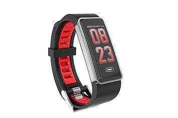 ZEERKEER Reloj Inteligentes,Touch Pulsera Inteligente con Impermeable IP67,Detección de Ritmo Cardíaco,