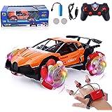 FORMIZON Fjärrstyrd bil, RC stunt offroad bil, fjärrstyrd stunt bil, fjärrstyrd uppladdningsbar racerbil, leksak…