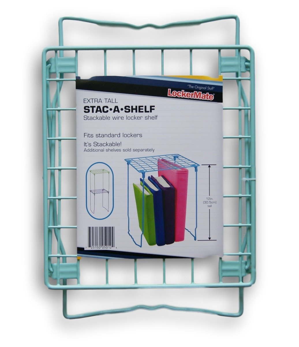 LockerMate stac-a-shelf – Pastel Azul y verde – 12  It' s Academic Inc