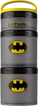Whiskware Justice League Stackable Snack Pack, Batman