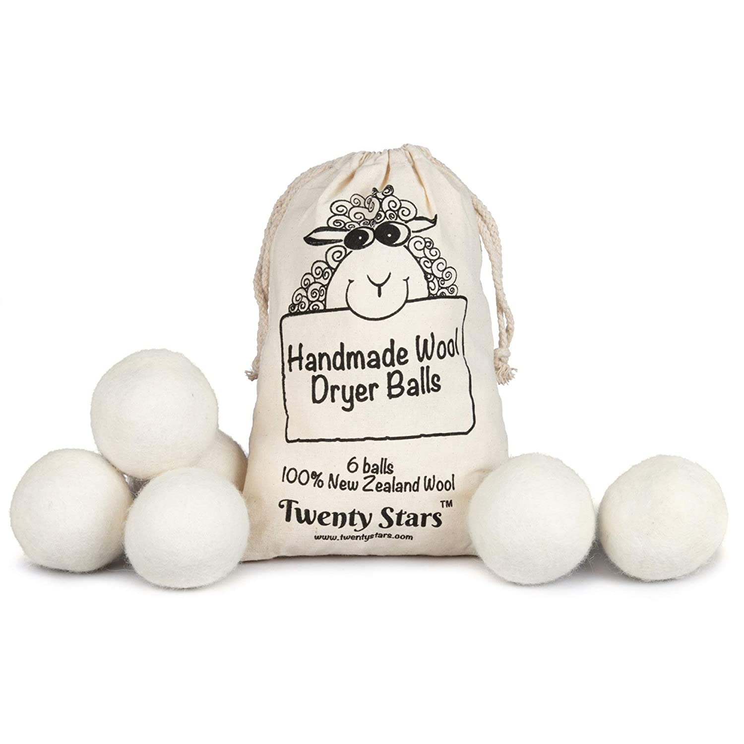 Image 2 of Wool Dryer Balls, Pack of 6