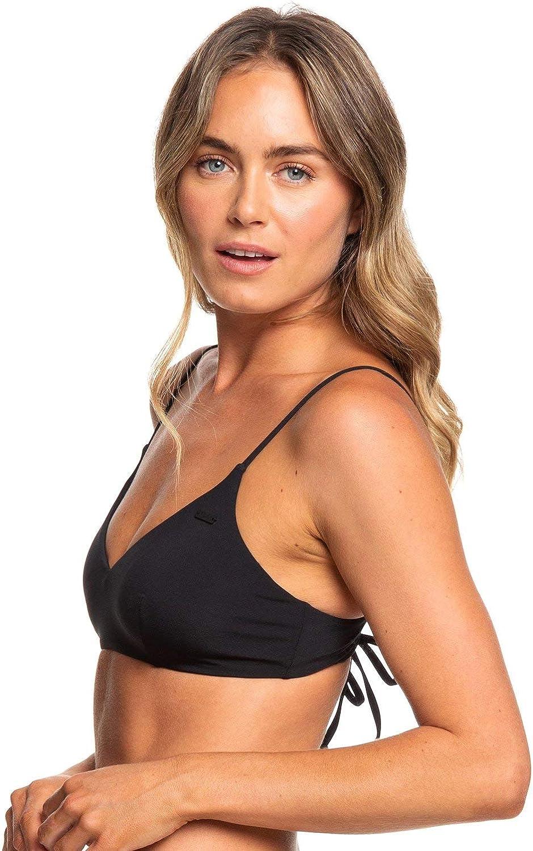 Roxy Womens Solid Beach Classics Athletic Tri Top
