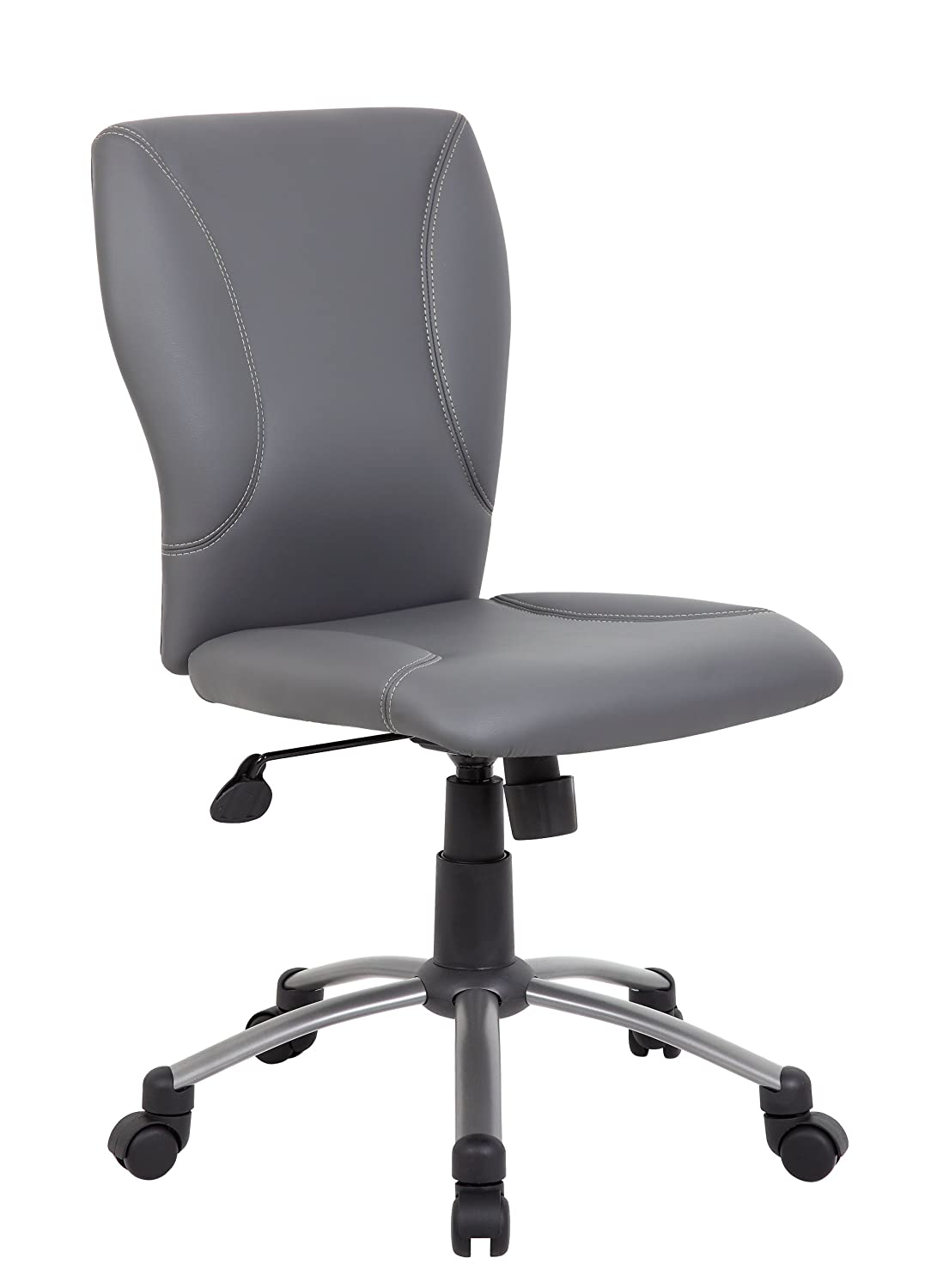 Boss B220-GY Tiffany CaressoftPlus Chair, Grey