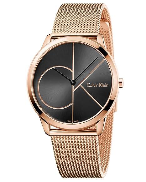 Calvin Klein Reloj Analogico para Hombre de Cuarzo con Correa en Acero Inoxidable K3M21621: Amazon.es: Relojes