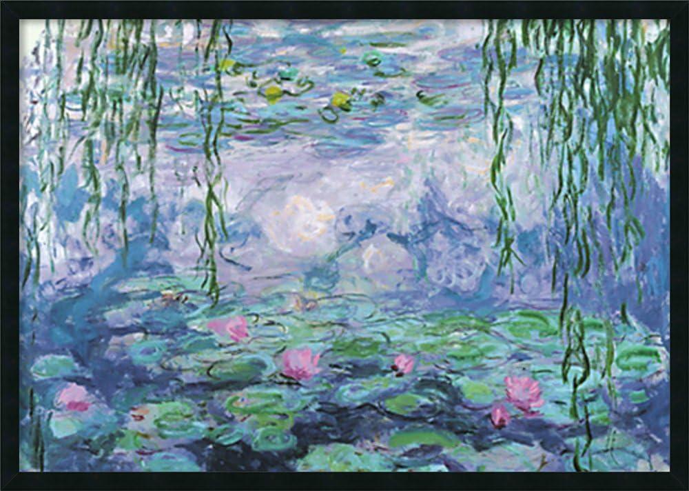 CLAUDE MONET Water Lilies CANVAS PRINT Wall Decor Art Painting Giclee Nymphéas
