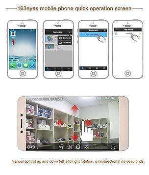 Pinkbenmus - Full HD Cámara De Seguridad Doméstica / Detección móvil, Cámara De vigilancia wifi