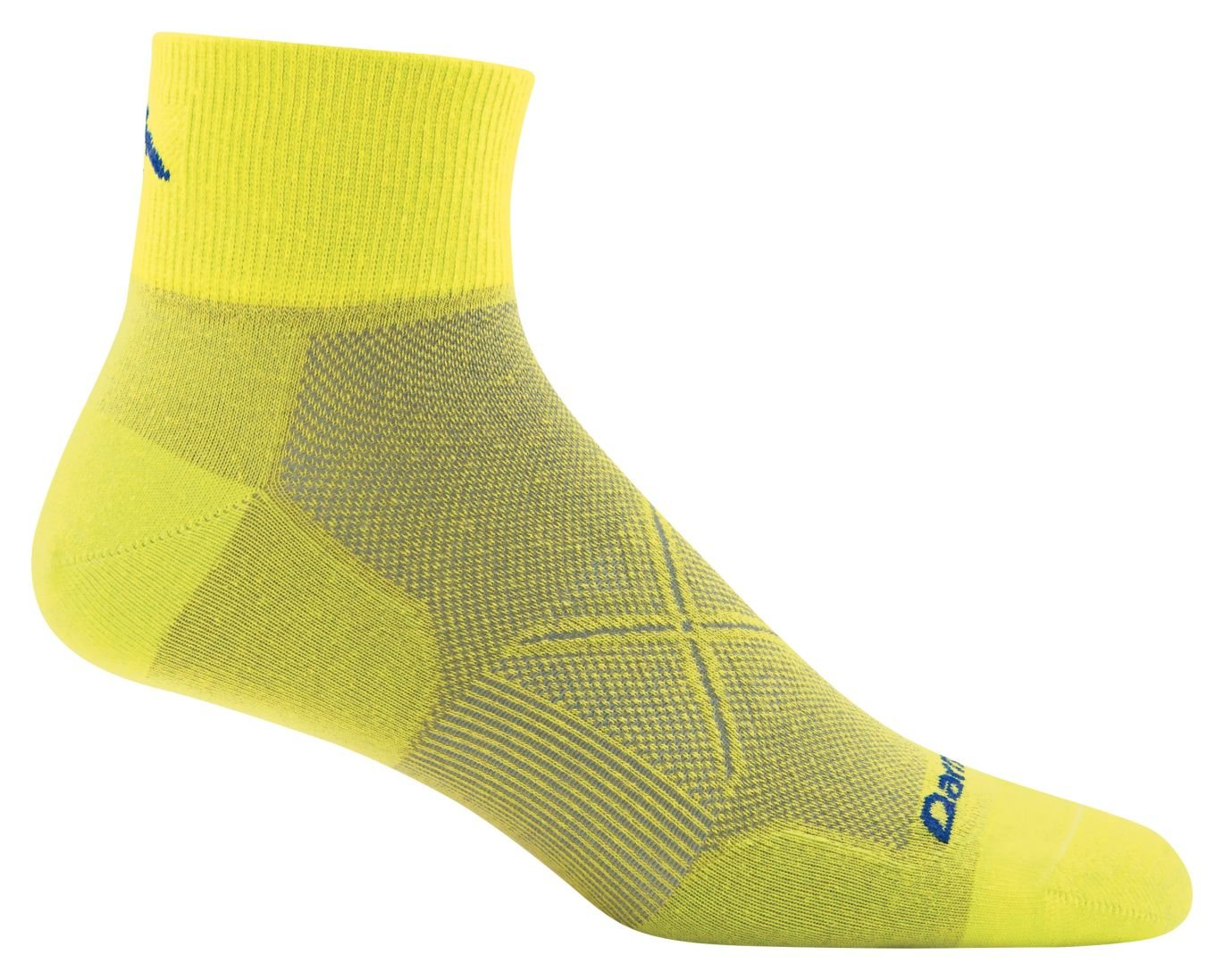 Mens 1773-P Darn Tough Vertex Quarter Crew Ultralight Cool Max Sock