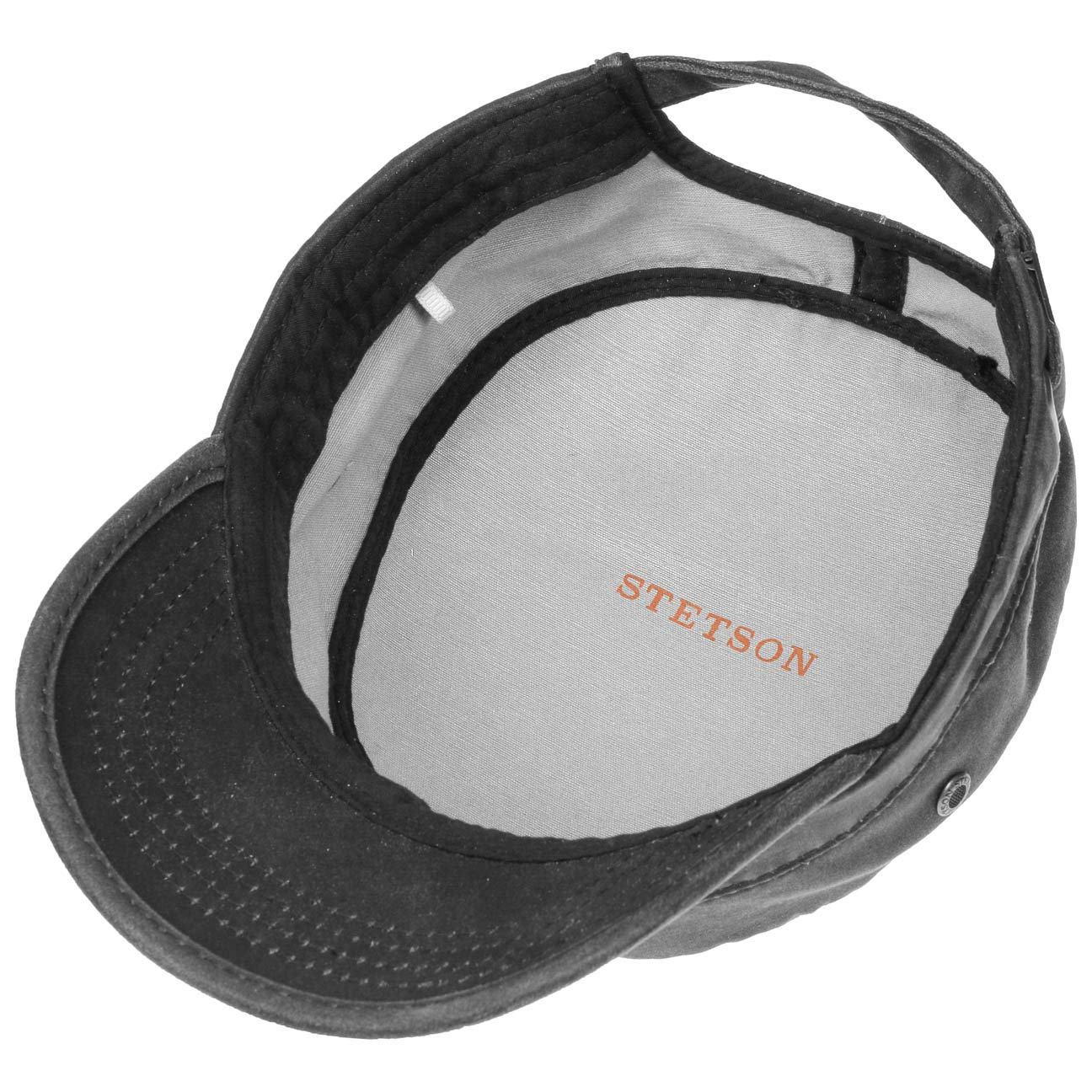 a3905696 Stetson Datto Men's Army Cap | Water-Repellent Cotton Cap | Summer/Winter | Army  Cap with UV 40+ Sun Protection | Washed Leather Look (Oilskin) | Urban Cap:  ...