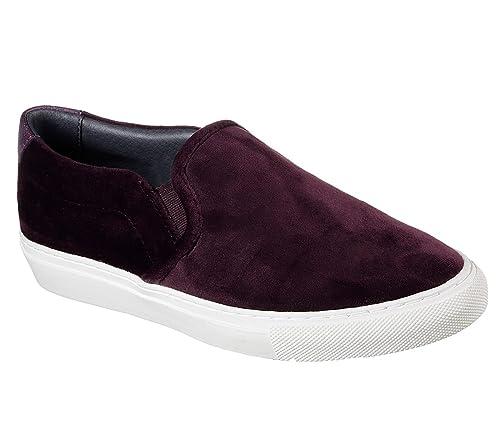 Skechers - 49933_ccl Mujer, Rojo (Burgundy), 8 B(M) US: Amazon.es: Zapatos y complementos