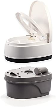 D02 Outdoor Indoor Portable Toilet Pedestal Pan Camping RV Caravan Parts M