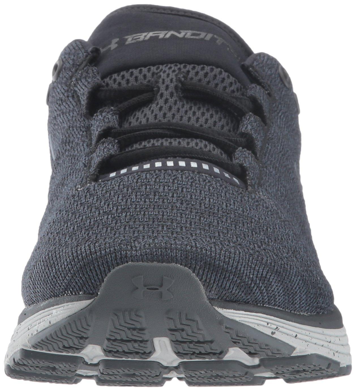Under Armour Women's Charged Bandit 3 Running Shoe B01N45BFHU 11 M US|Black (001)/Glacier Gray