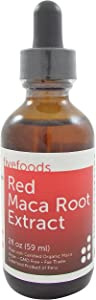 Red Maca Extract - Fair Trade, GMO Free, Vegan - Made from Organic Red Maca Roots Grown Traditionally in Peru - 2 Fl Oz - 59 Ml