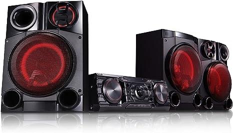 LG CM8460 Home Audio Mini System 2750W Negro Sistema de Audio para el hogar: Amazon.es: Electrónica