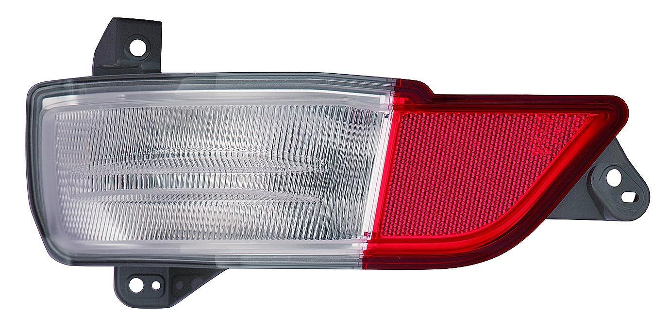 Depo 317-2913L-AF Back Up Lamp Assembly (Honda Pilot 16 Bumper Driver Side Nsf)