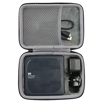 co2crea Hard Travel Case for WD My Passport Wireless Pro Portable External Hard Drive
