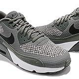 NIKE Air Max 90 Ultra 2.0 Se GS Junior Running Trainers 917988 Sneakers Shoes (UK 4 US 4.5Y EU 36.5, River Rock Black Cobblestone 004)