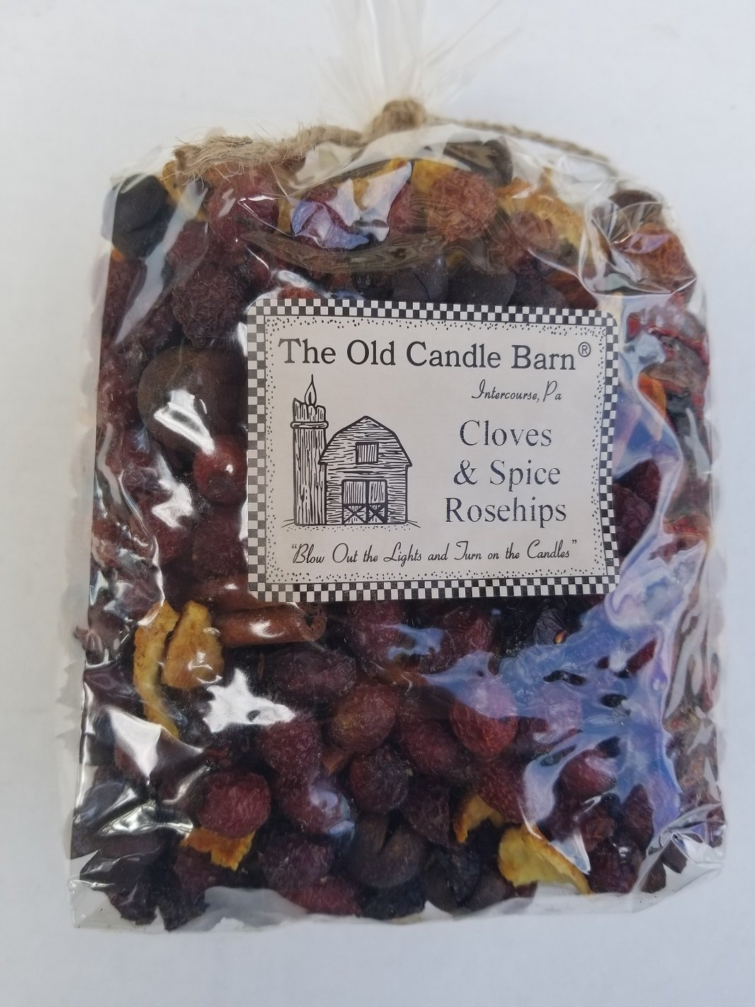 Cloves & Spice Rosehips Large Bag - Well Scented Potpourri - Made In USA