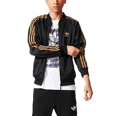 adidas Nigo Bear SST jacket black white
