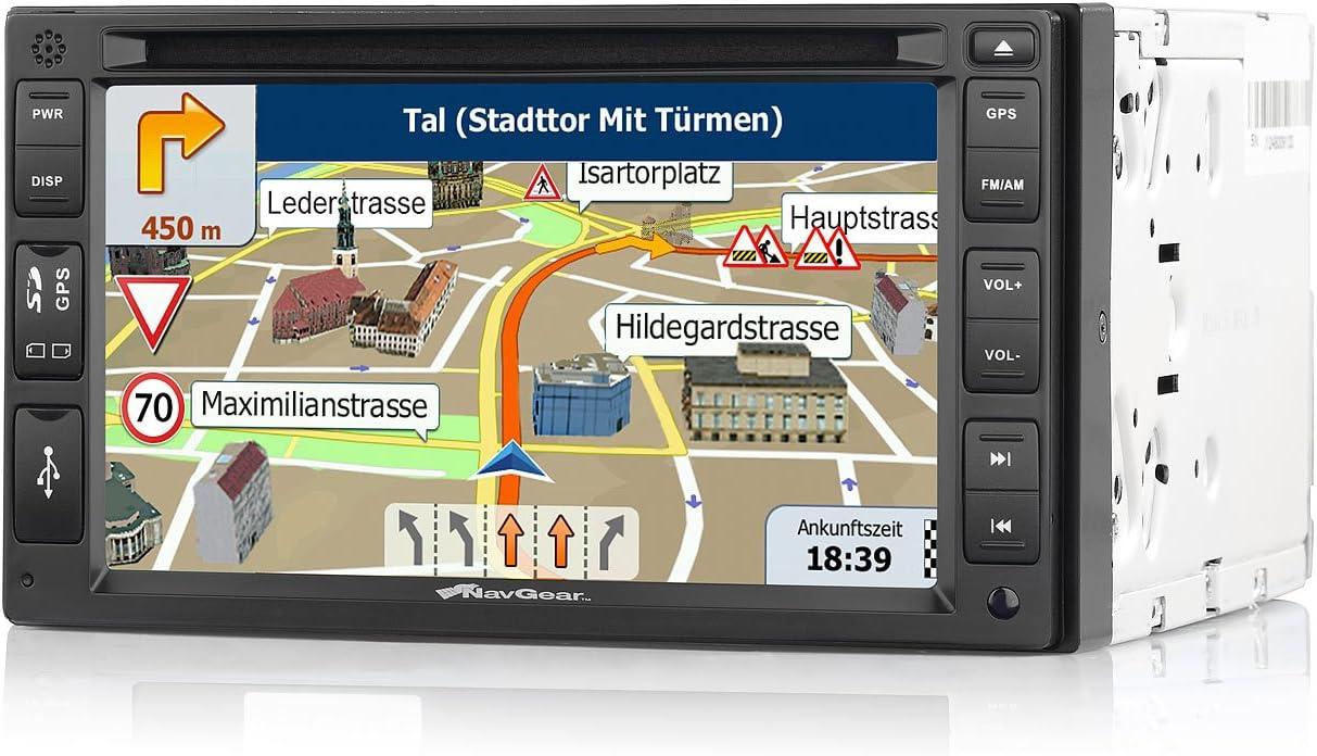 NavGear PX-2857-906 - Navigador para coches de 6