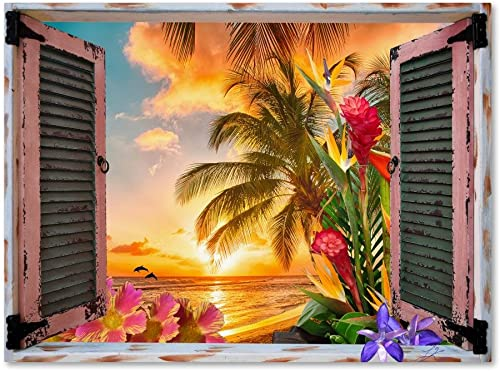 Tropical Window to Paradise II