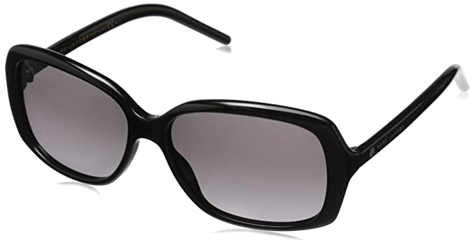 MARC JACOBS Marc Jacobs Damen Sonnenbrille » MARC 87/F/S«, schwarz, 807/UE - schwarz/ weiß