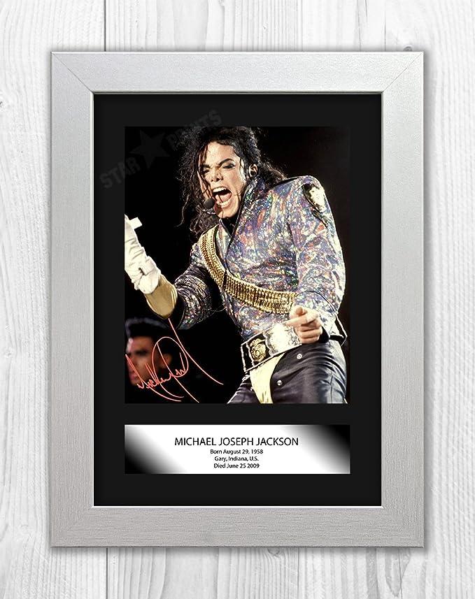 Amazon.de: Engravia Digital Michael Jackson Signed Autograph ...