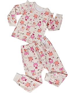 9794ea7a54 UniFriend Boy s Girl s Pajamas Set Toddler 100% Cotton 2 Piece PJS  Loungewear