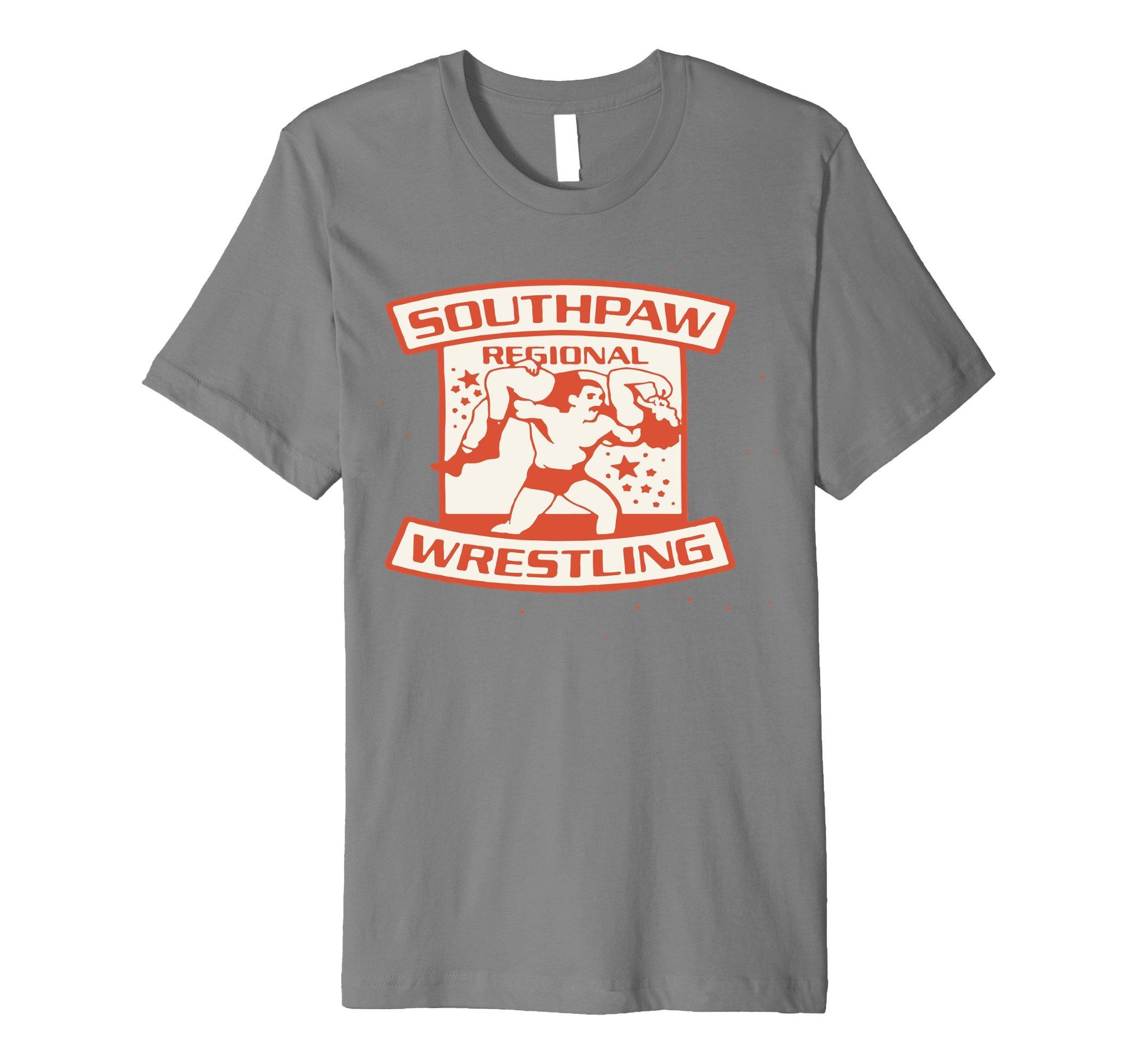 Mens Southpaw regional wrestling t shirt Large Slate by Southpaw regional wrestling t shirt