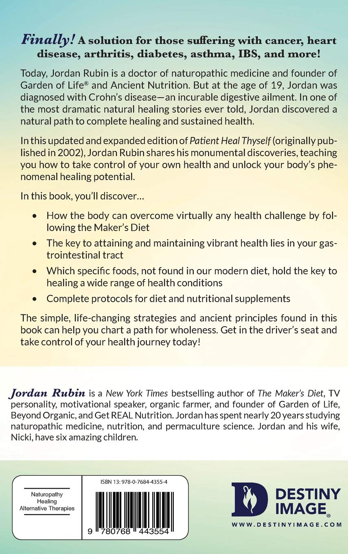 Amazon.fr   Patient Heal Thyself   Jordan Rubin   Livres
