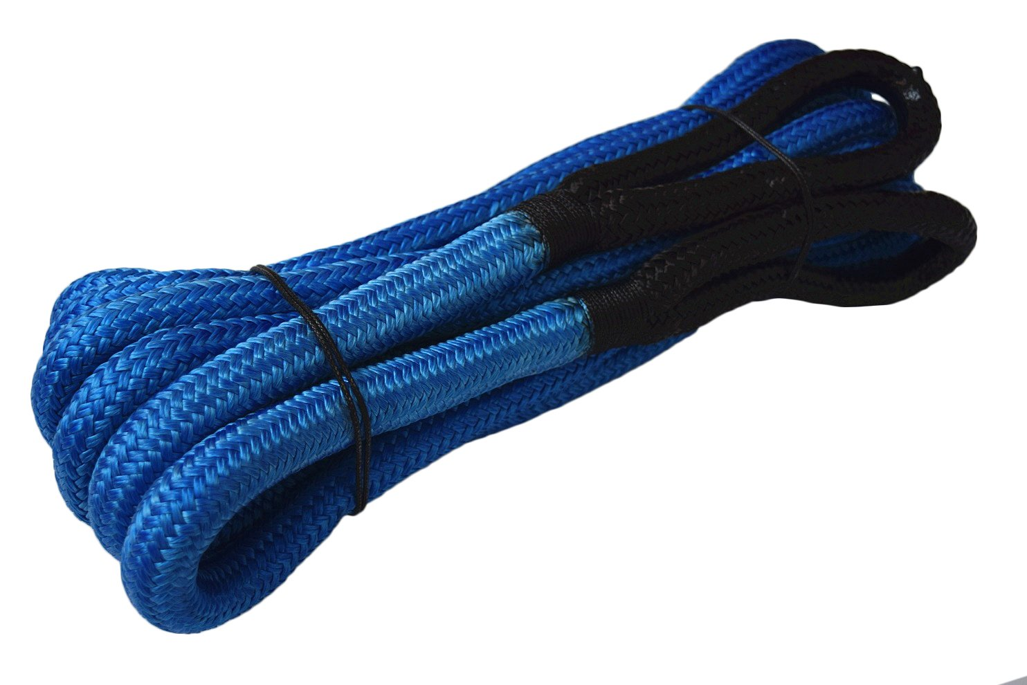 3/4'*30ft Recovery Rope, Recovery Energy Rope, Kinetic Recovery Rope (Black) best offroad store