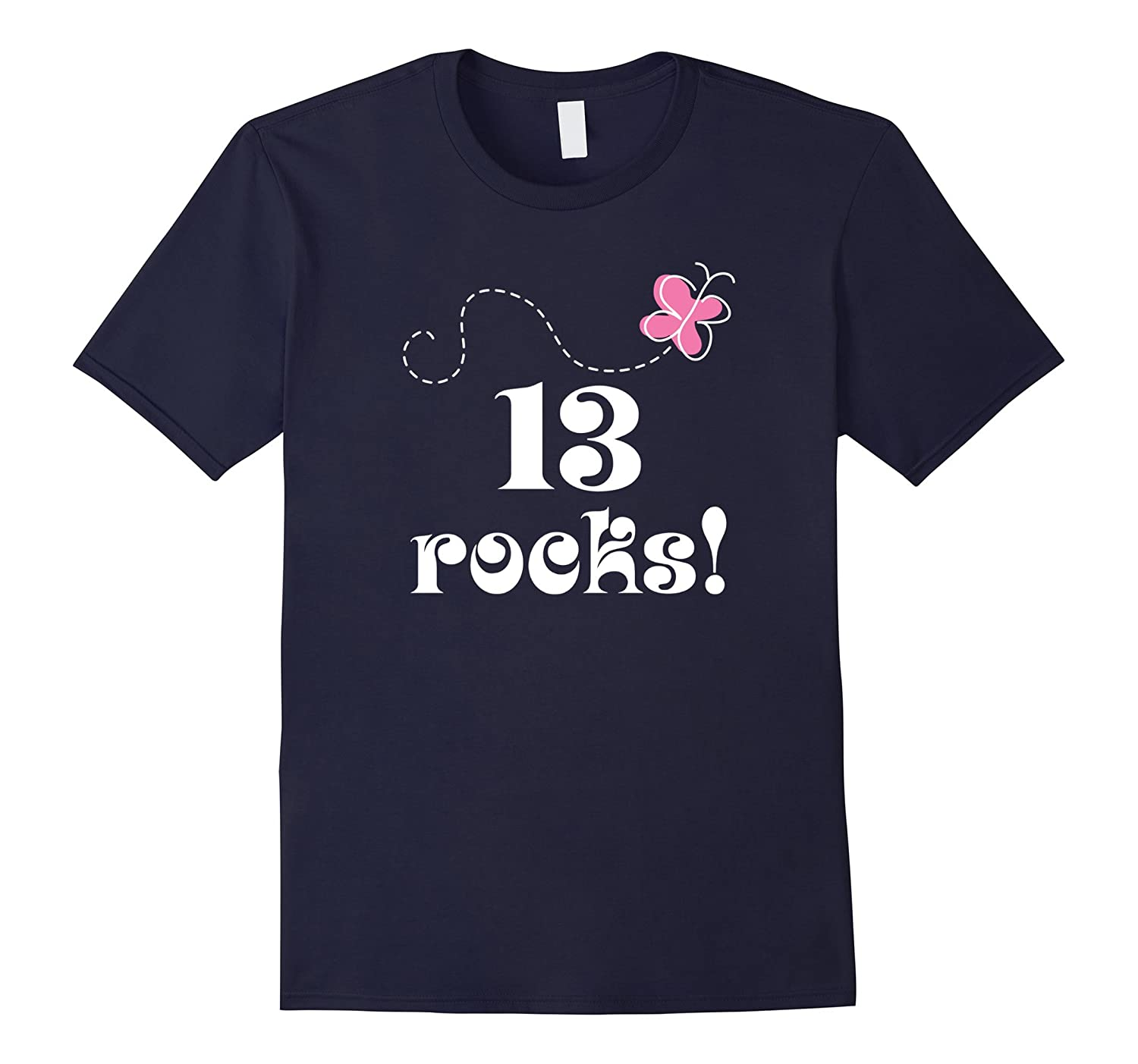 13th Birthday T-shirt 13 Year Old Teen Girl Photo Gift Tee-PL