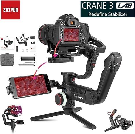 Zhiyun Crane 3 Lab Crane 2 - Estabilizador de cardán Manual de 3 ...