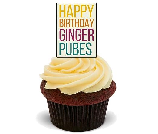 Feliz cumpleaños Ginger pubes - Funny/Rude - Decoración para ...