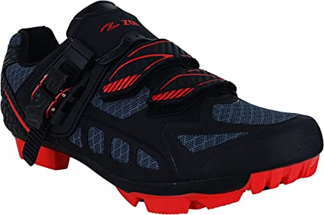 Zol Predator MTB Mountain Bike and Indoor Cycling Shoes with Cleats