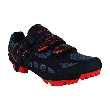 Zol Predator Plus MTB - Zapatillas de Ciclismo para Bicicleta de montaña e Interior, Unisex Adulto, Negro, 38: Amazon.es: Deportes y aire libre