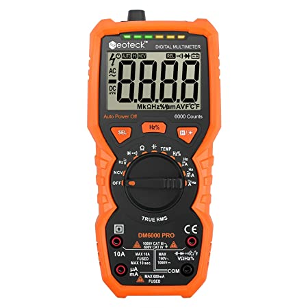 Neoteck Digital 6000 Counts Multimeter