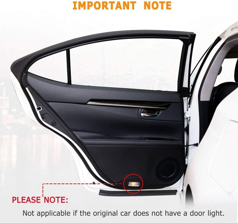Car Door Led Projector Lights Shadow Ghost Light,Universal Car Door Logo Projector Logo Lights for RAM 2Pcs for Car Door Lights Logo for RAM