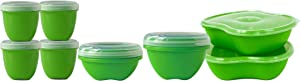Preserve 8-Piece Food Storage Set, Made from Recycled Plastic