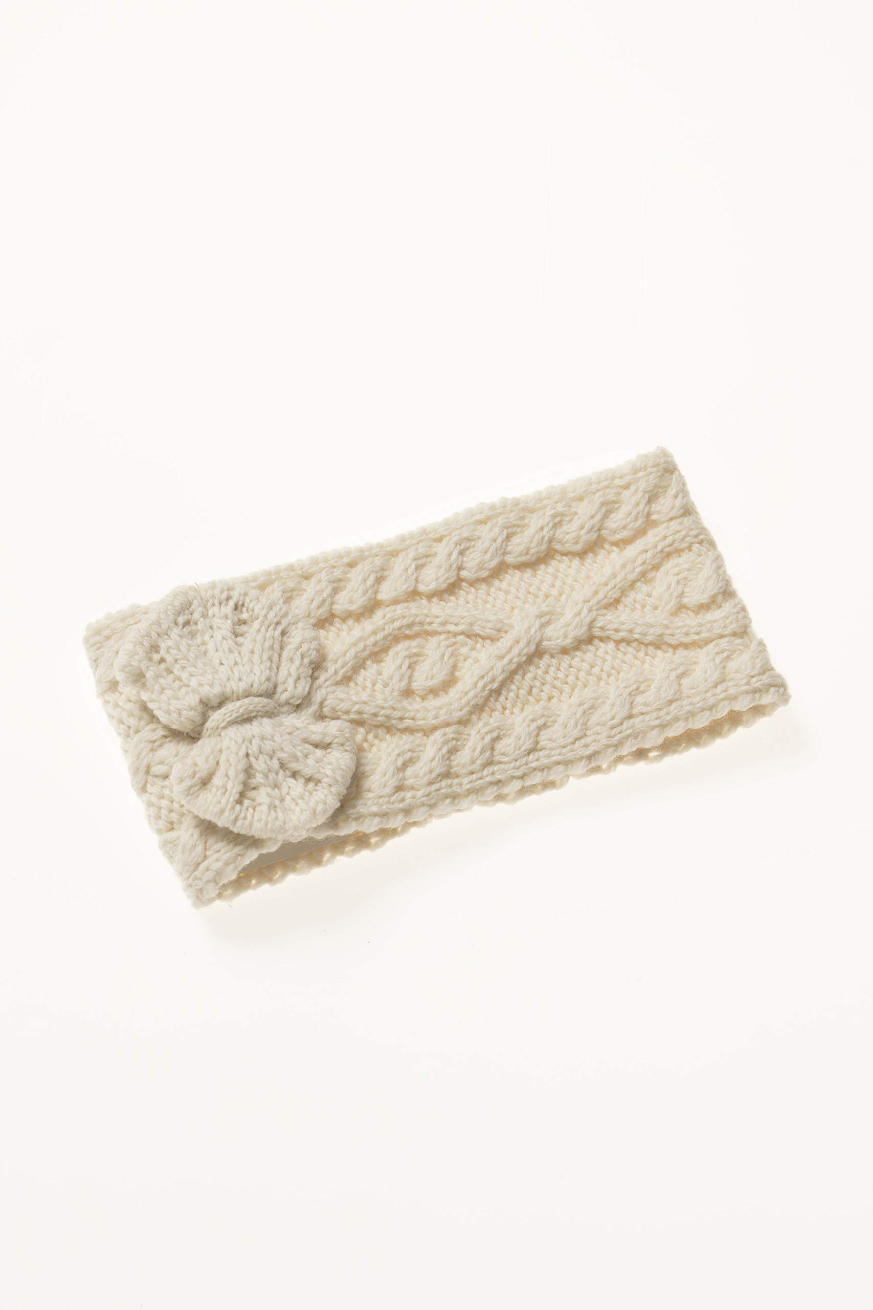Aran Crafts Headband (100% Merino Wool) One Size Natural (X4341-NAT) by Aran Crafts Ireland (Image #5)