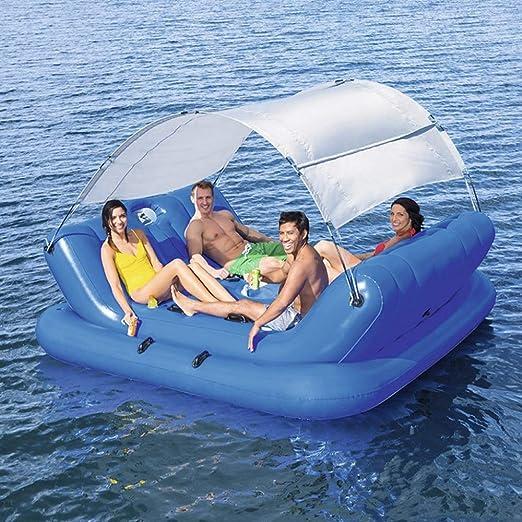 QVQV Hinchable Piscina Gran Flotante Flotante Fila Cama Ocean Park ...