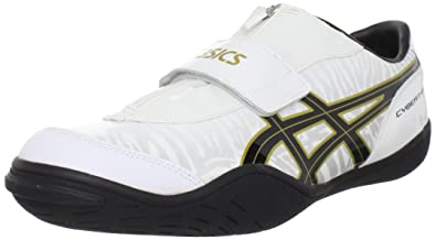 a3f5fcea403f42 ASICS Men s Cyber Throw London Track Shoe