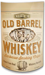 Mr. Bar-B-Q 05042BC Old Barrel Whiskey Barbecue Smoking Chips, Brown