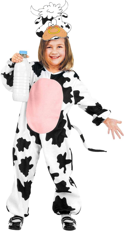 WIDMANN 36619 - Disfraz de vaca y Tori para niños, multicolor, 110 ...