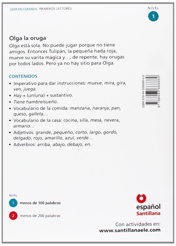 Leer en espanol - Primeros lectores: Olga la oruga + CD ...