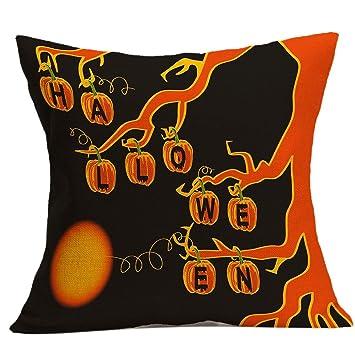 gotd halloween pillows cover decorations decor halloween throw pillow case sofa waist throw cushion cover home - Halloween Pillows