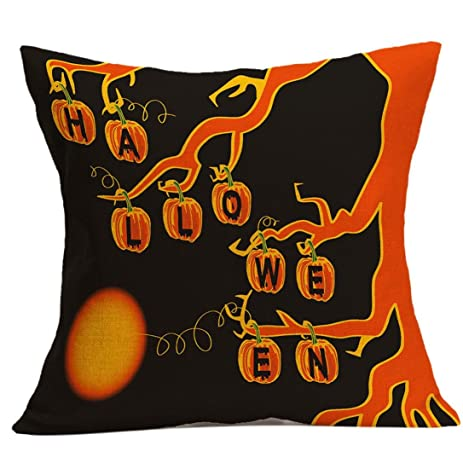 Gotd Halloween Pillows Cover Decorations Decor Halloween Throw Enchanting Halloween Pillows Decorations