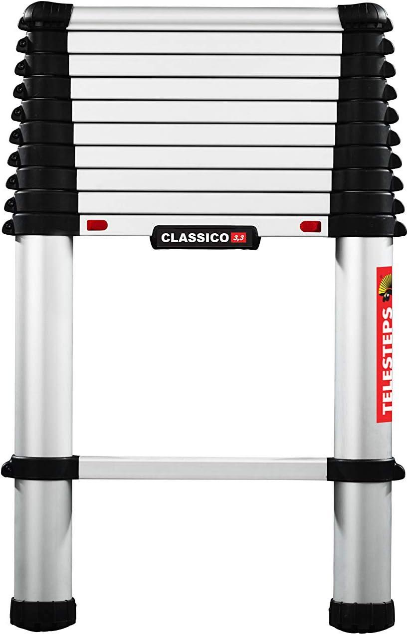Telesteps 60230-501 Classico Line /Échelle de 3 m Argent/é