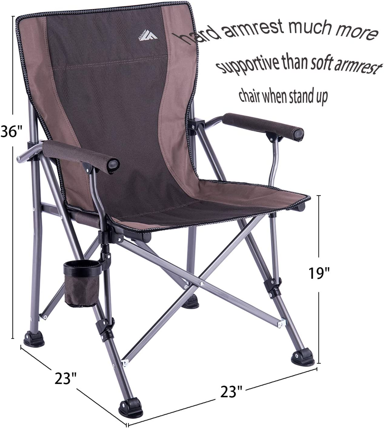 Amazon Com Folding Camping Chair Portable Camp Chair For Adults Supports 300 Lbs Oversized Heavy Duty Folding Camping Chair With Cup Holder Lightweight Lawn Chair For Outdoor Travel Picnic Hiking Straight Back