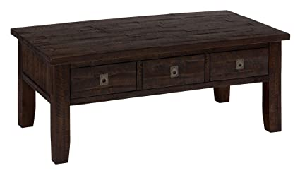 Charmant Jofran Kona Grove Rectangle Coffee Table In Deep Chocolate