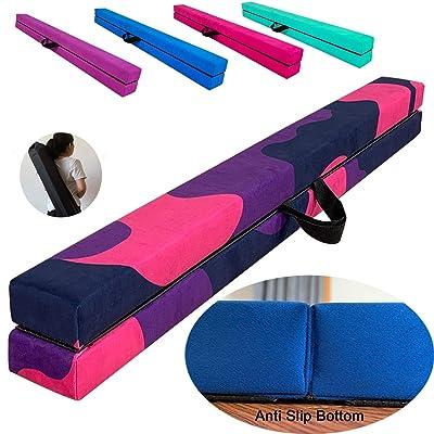 Buy MARFULA Extra Stability Wood Folding Balance Beam Gymnastics Floor Beam for Kids/Adults Home Use Online in Canada. B085FWL84X